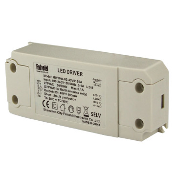 20W 500mA Parpadeo Libre Dimmable Led Driver