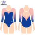 3/4 sleeve competitive leotard