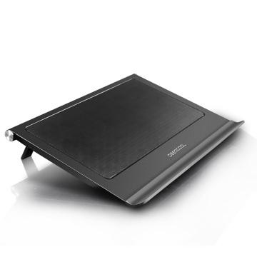DEEPCOOL N65 non-slip laptop cooling pad dual 140mm fan notebook radiator base bracket adjustment for 0-17.3 inch