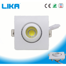 1W Square Adjustable Eye Ball Fitting COB Downlight