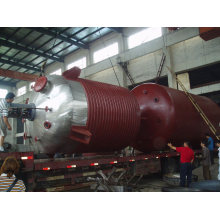 Tank type vessel of unsaturated polyester resin kettle