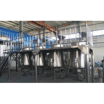 Stainless steel industrial fermentation reactor