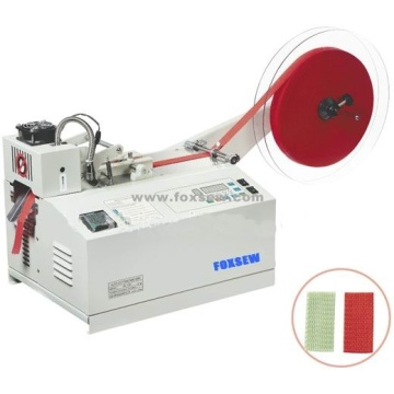 Automatic Fabric Tape Cutter Machine Hot Knife