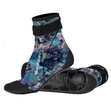 Seaskin Long Diving Socks with Velcro Closure