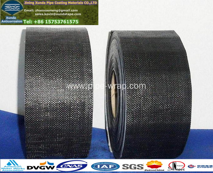 Polypropylene Mesh Membrane Tapes For Metallic Pipeline