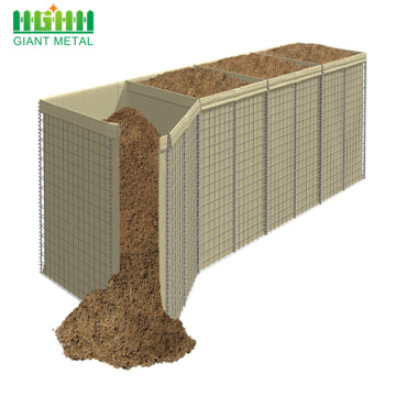 Hot dipped galvanized steel hesco barriers for sale