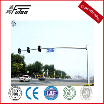Single Arm New Design Traffic Signal Pole
