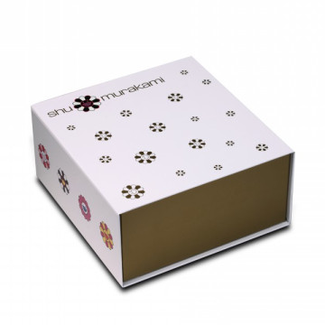 Luxury Custom Logo Gold Magnetic Collapsible Cosmetic Box