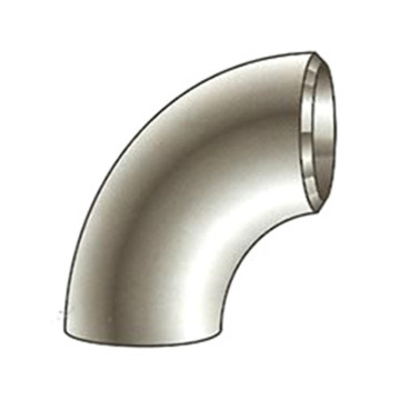 1.5D Butt Welded Seamless Pipe Fitting 90 Elbow