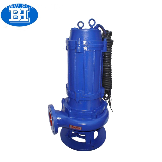 Electric cast iron sewage submersible pump