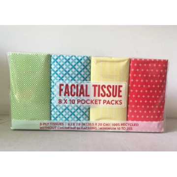 Pocket Tissue with colorful package