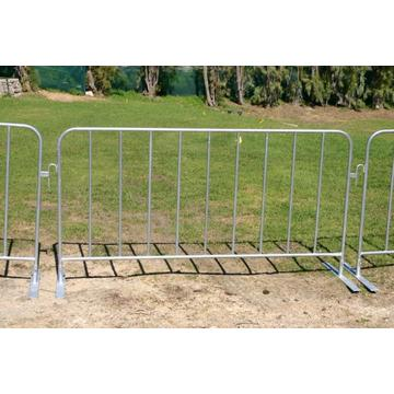 high quality Galvanized Crowd Control Traffic Safety Barrier