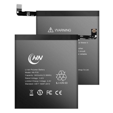 External li-polymer rechargeable HUawei P20 battery