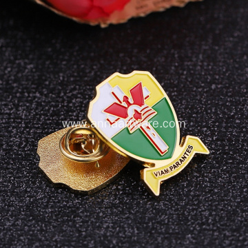 Metal High Quality Promotional Enamel Badges