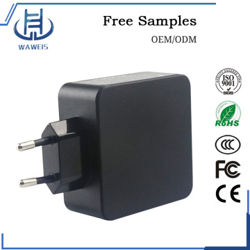 USB C Charger AC Power Adapter Removeable