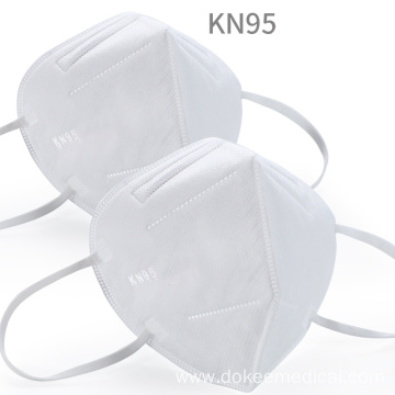 N95 Masks pm2.5 6-Layer KN95 Protective Face Mask Adult Anti-fog Haze Dustproof Non-Woven Fabrics Mask
