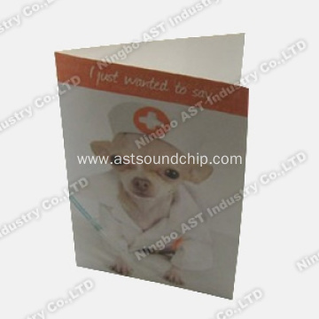 Musical Invitational Cards, Recordable Card