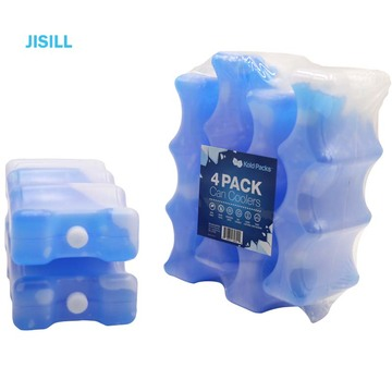 curve shape breastmilk cooler gel cold ice pack