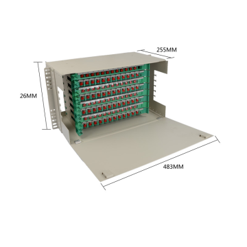 96 Cores Optical Distribution Frame ODF
