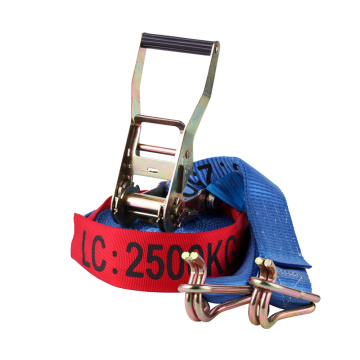 EN12195 50mm Long Handle Ratchet Lashing Strap