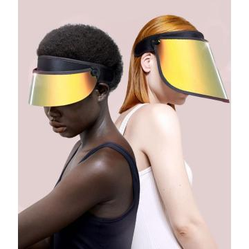 Colorful sun visors cap sun shield scratch resistance