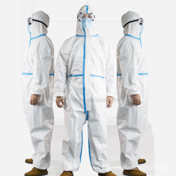 Disposable Ppe Fda Medical Protective Hazmat Suit Coveralls