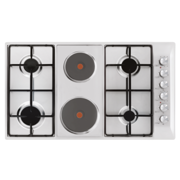 Glem Mixed Hob Gas Electric Cooktops