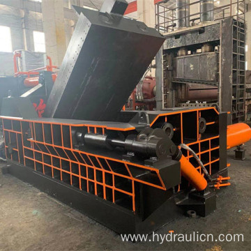 Hydraulic Scrap Metal Iron Shavings Aluminum Profile Balers