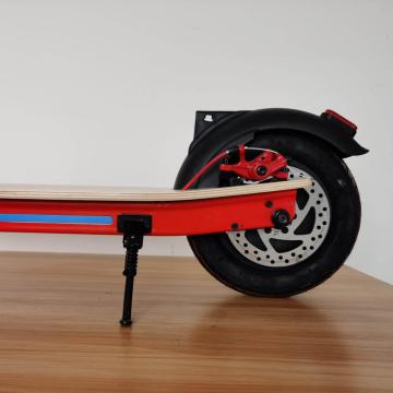 Custom Red Maple Board Electric Scooter