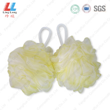 Lightly foam flower sponge ball