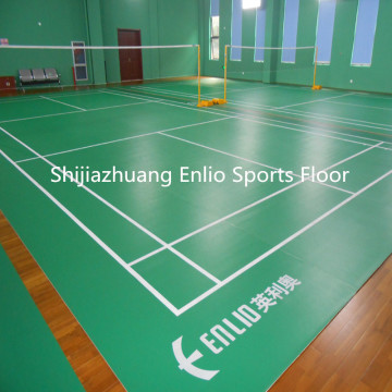 ENLIO PVC badminton floor with BWF