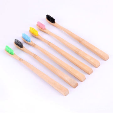 Customized Eco-Friendly Biodegradable Bamboo Toothbrush