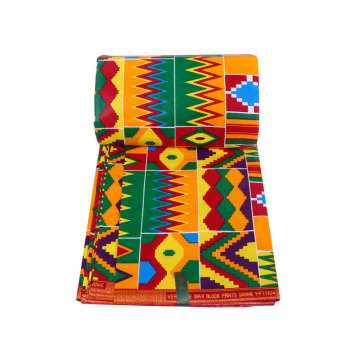 Spandex african wax prints polyester fabric