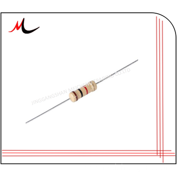 1/4w Carbon Film Fixed Resistor 0.25w 220R