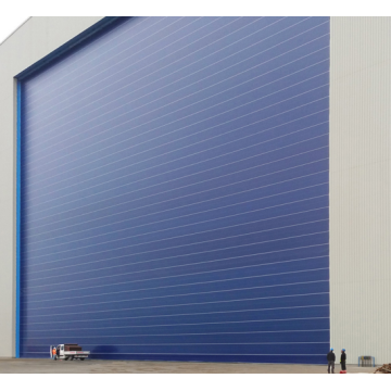 High speed fast action flexible door