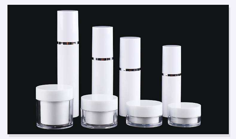 Cosmetic set bottle spray lotion travel divide bottle press type small sample cream bottle (15)