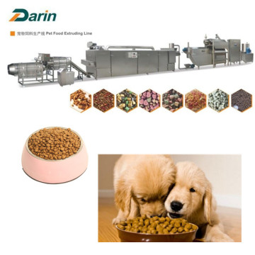 Stainless Steel Pet Food Extruding Line for Dog/Cat/Fish
