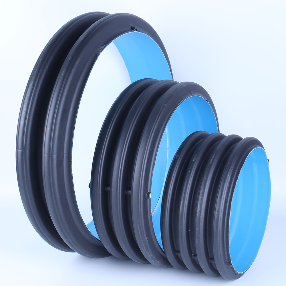 HDPE UPVC double wall corrugated pipe