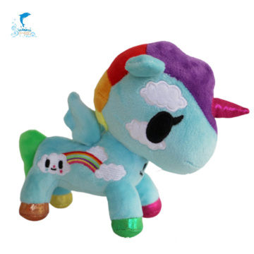 Multi-color Unicorn Plush Toy