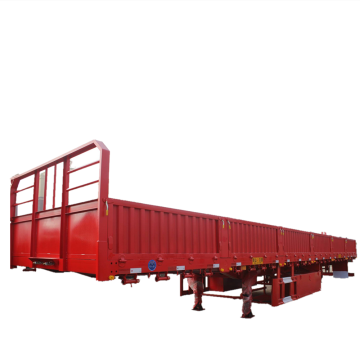 Heavy Duty Stake Cargo Tow Semi Trailer