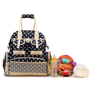Portable multifunctional diaper bag organizer backpack