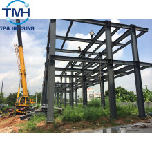 accept custom order steel frame warehouse and workshop