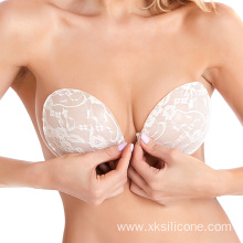 Hot selling invisible lace push up strapless bra