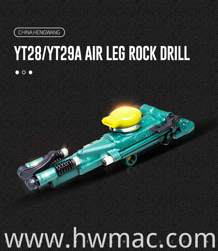 Air Leg Rock Drill01
