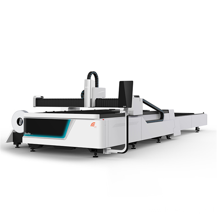Fiber laser stainless steel cnc cutting machine