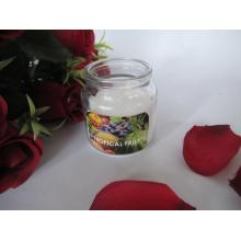Tropical Fruit Scented Glass Jar Scented Candles