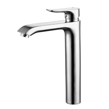 HIDEEP Modern Full Copper Chrome Basin Faucet