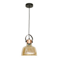 American Village Retro Industry glass pendant lamp