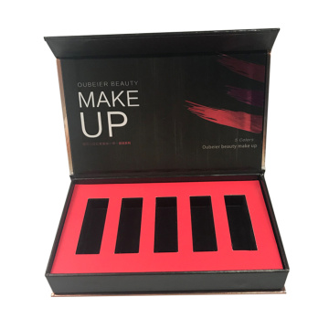 Custom Cardboard Cosmetic Lipstick Set Packaging Box