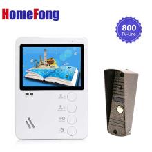 Homefong 4.3 Inch Video Door Phone Intercom System Video Doorbell Camera Weatherproof Night Vision Video Door Viewer